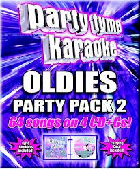 party tyme karaoke oldies party pack 2 4 disc box set walmart com