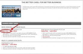 Best Business Credit Card Offers Mechanics Bank Credit Cards Personal Business Bank Online