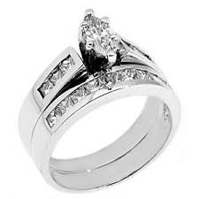 marquise cut engagement rings womens platinum marquise cut engagement ring wedding band