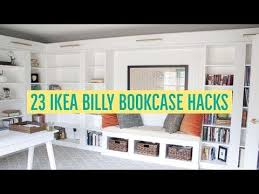 bookcases for bedrooms photo yvotube com 23 ikea billy bookcase hacks youtube ikea pinterest billy