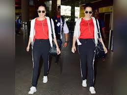 and casual pic shraddha kapoor keeps it cool and casual at the airport