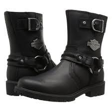 harley motorcycle boots harley davidson abner black motorcycle mens boots ebay
