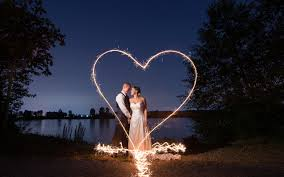 heart sparklers heart with sparklers wedding photography