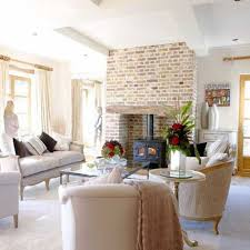 French Country Livingroom by Home Design White French Country Decorating Ideas Cottage