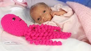 nicu babies hospital gives stuffed octopus toys to preemies