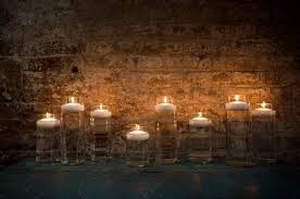 floating candle centerpieces apartment therapy
