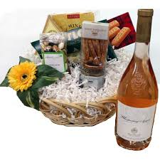 High End Gift Baskets Rozi U0027s Gourmet Gift Basket S U0026 Wine Corporate Gifts