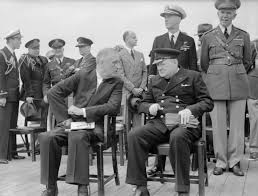 roosevelt and churchill 1941 war the atlantic charter and two