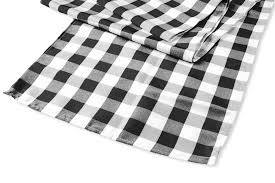 black and white table runners cheap checkered polyester table runner black white cv linens