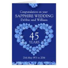 45 wedding anniversary 45th wedding anniversary cards invitations zazzle co uk
