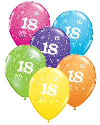 balloons for 18th birthday 18th birthday party balloons party fever party fever