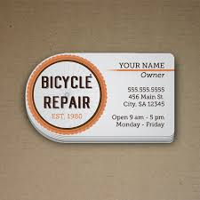 Bicycle Business Cards Howard Print Shop Business Cards Printer Print Business Cards
