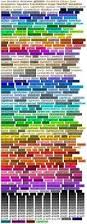 elles heart loves color charts