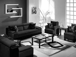 black and white modern living room furniture modern white modern