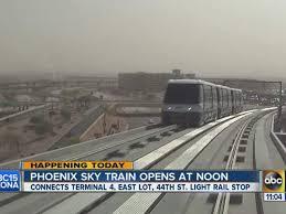 light rail to sky harbor phoenix sky train to airport ushers in new era for valley metro