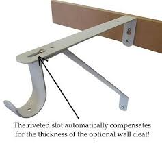 shelf support brackets 1 pair metal wall mounted shelf support