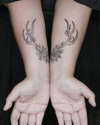 the 25 best antler tattoos ideas on pinterest deer tattoo deer