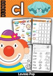 blends worksheets and activities cl worksheets activities and