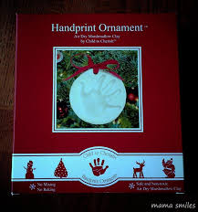 handprint ornament building memories