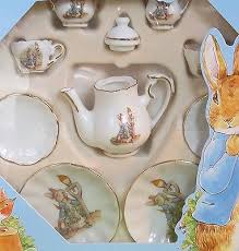 beatrix potter tea set 10 set german porcelain beatrix potter tea set mint in the
