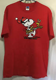 snoopy christmas t shirts snoopy christmas t shirt woodstock medium graphic a rockin