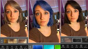 hair color changing app youtube