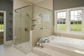 bathroom amazing simple shower design awesome grey white glass
