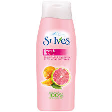 Brighter Pink Amazon Com St Ives Even U0026 Bright Body Wash Pink Lemon And