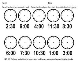 telling time assessment worksheet telling time worksheets worksheets