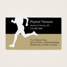 Massage Therapy Business Cards Sports Therapy Business Cards U0026 Templates Zazzle