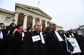 magistrat du si e d inition juges avocats greffiers mobilisation contre la réforme de la