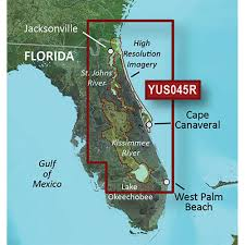 Florida Map East Coast Garmin Bluechart U0026 174 G2 Hd W High Resolution Satellite Imagery