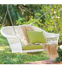dreamed of having a wicker porch swing u2013 into the glass