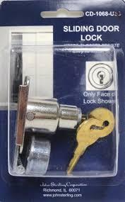 Sliding Closet Door Lock Sterling Sliding Door Lock Chrome Finish Safeandlockstore