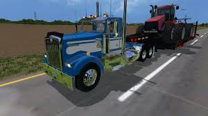 kenworth trucks 2017 2004 kenworth w900l day cab 2 farming simulator modification