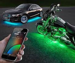 app controlled car lights controlled automotive lighting