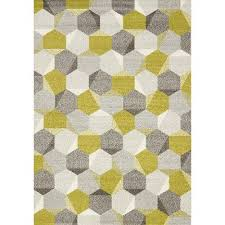 Large Grey Area Rug 8 X 11 Large Honeycomb Green Gray Area Rug Camino Rc Willey