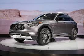 infiniti refines 2017 qx70 with luxed up limited edition new images