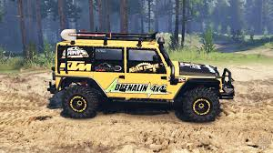 jeep rally car wrangler for spin tires