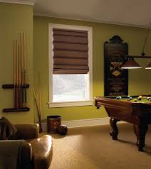 Blinds For Basement Windows by Levolor Classic Roman Shade Traditional Basement Houston