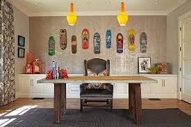 Home Office Decoration Ideas 25 Ingenious Ways To Bring Reclaimed Wood Into Your Home Office