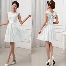 cocktail wedding dresses fashion women lace dress prom evening party cocktail