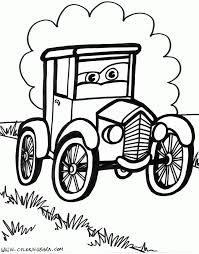 old cars coloring pages free large images ajoneuvot