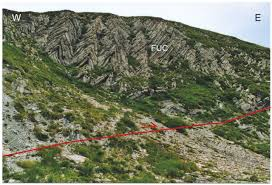Italy Mountains Map by Stratigraphic And Structural Features Of The Sibillini Mountains