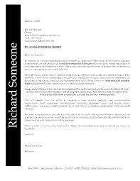 example of job cover letter for resume cover letter for resume format free resume example and writing sample cover letters management positions manager letter resume objective for retail position concession supervisor cover