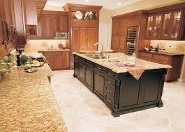 kitchen floor black wooden access door storage granite kitchen