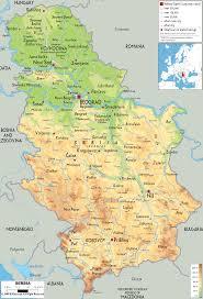 Novi Michigan Map by Serbia