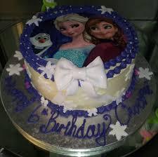 frozen print cake designer bitesdesigner bites