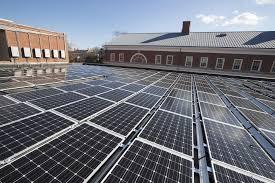 solar panels on roof uva dominion virginia power celebrate solar energy partnership