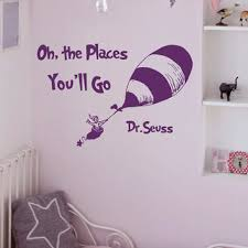 wall decal quote oh the places you u0026 39 ll from fabwalldecals